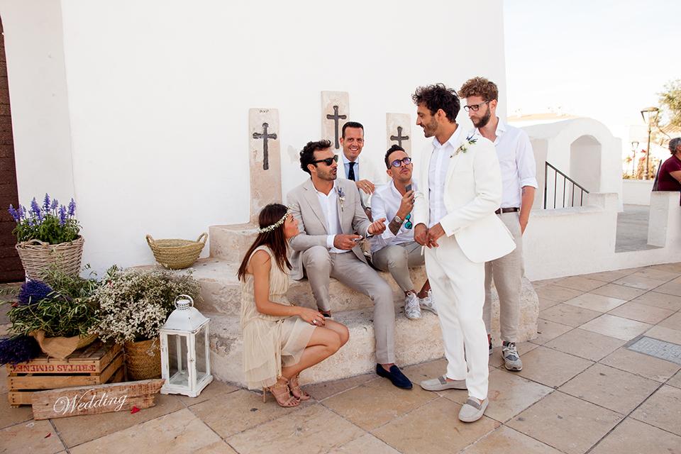 fotógrafo boda en Formentera playa migjorn balear iglesia san fracesc
