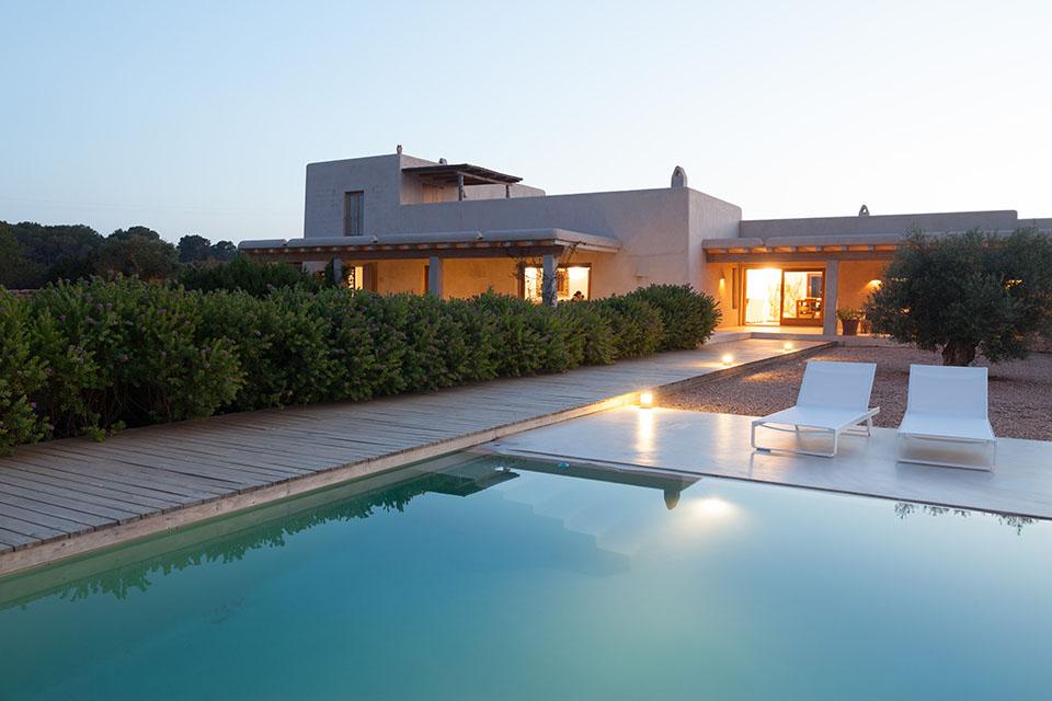 Foto de arquitectura en Formentera