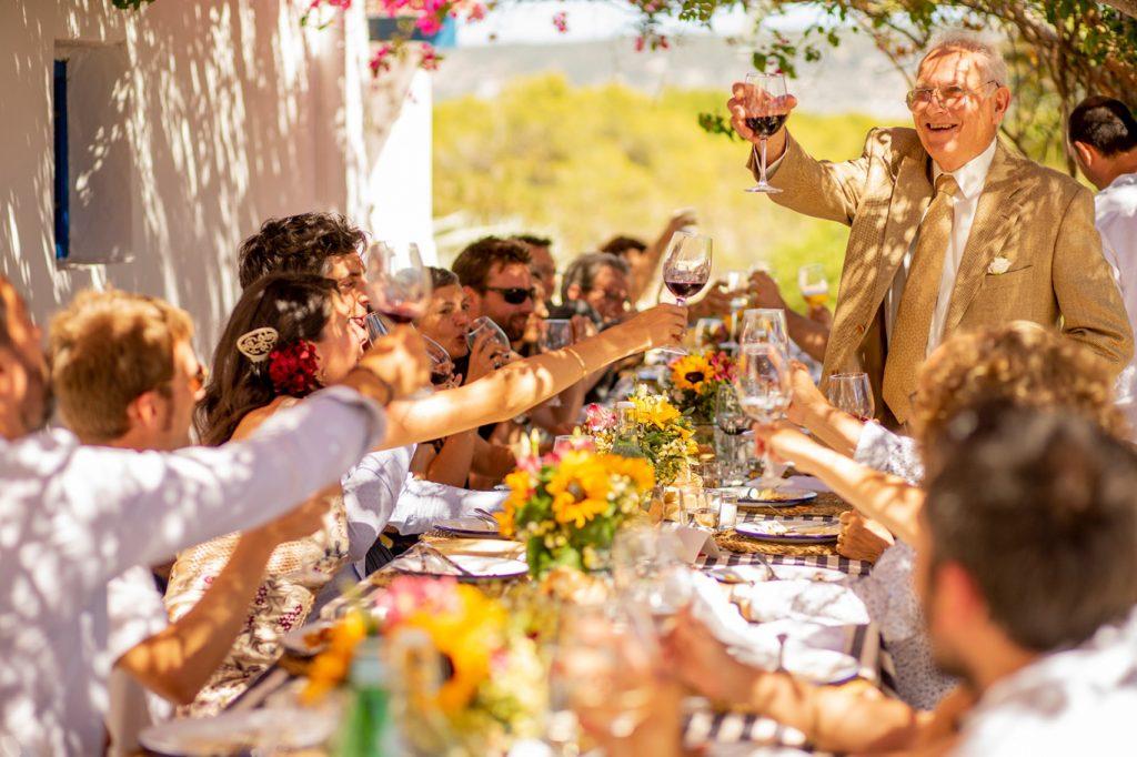 fotógrafo boda en Formentera playa migjorn balear